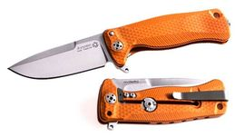 Lionsteel folding knife Aluminium red SR22A.OS