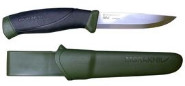 Mora knife Companion green khaki outdoor knife