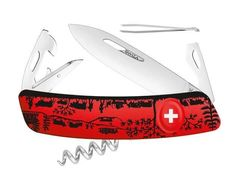 Swiss knife Swiza D03 Heimat red