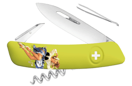 Swiss knife Swiza D01 Pin Up Green