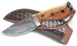 Handmade knife Croco Knives Damascus 17