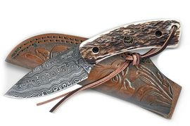 Couteau Croco Knives Damascus 24