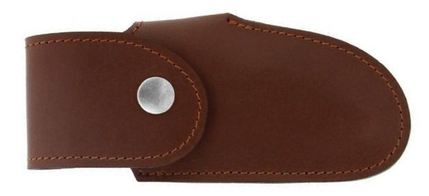 Max Capdebarthes brown leather sheath Le Montagnard