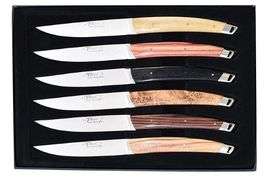 Gift box 6 knives Le Thiers LOCAU Le Tablior