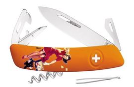 couteau Swiza D03 Pin-Up Orange Autumn