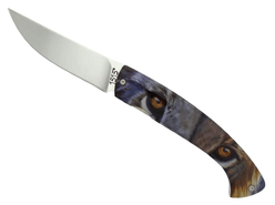 1515 Alsac folding knife Lion