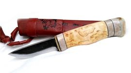 Lappish outdoor knife Wood-Jewel Lappipuukko