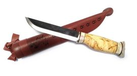 Lappish hunting and meat knife Wood-Jewel 23PM