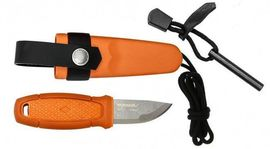 Eldris neck knife kit Morakniv Burnt orange
