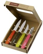 "Box with 4 little kitchen knives ""*Opinel Essentials"""
