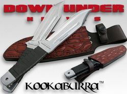 Boxed set of 2 Down Under Kookaburra knives 446017