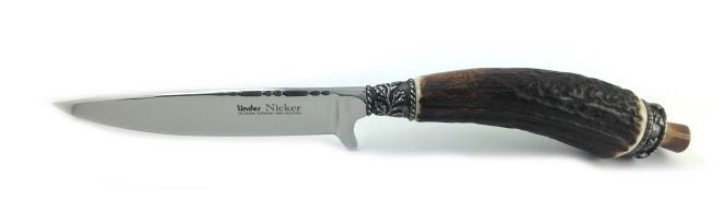 Couteau lame chasse NICKER 440 A Messerbau brut Lame Couteau NICKER 12 cm 4187