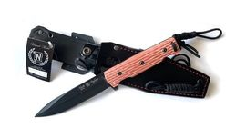 Nieto Fighter tactical fixed blade knife black