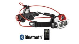 "Petzl ""Nao Plus"" rechargeable headlamp 750 lumen"