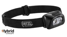 "Petzl headlamp ""Tactikka + RGB"" black 350 lumen"