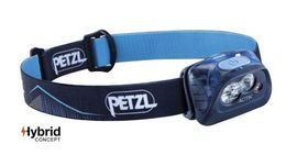 "Petzl headlamp ""ACTIK"" Blue 350 lumen"