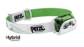 "Petzl headlamp ""ACTIK"" Green 350 lumen"