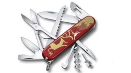 1.3714.E10 Victorinox Huntsman red year of beef 2021