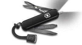 0.6226.31P Victorinox Signature Lite Swiss Army Knife monochrome with pen