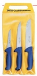 set of 3 Dick Ergogrip butcher's knives