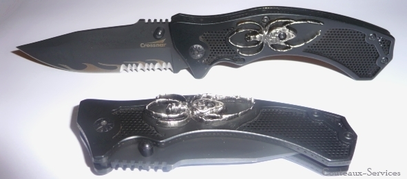 Crossnar Folding knife spider collection 10870