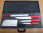Butcher's knives case Fischer Bargoin