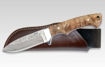 Hunting knife Linder Damascus 1