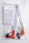 Mechanism and 4 rods for Knife sharpener Red Steel