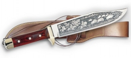 Bowie knife Linder deluxe 177325