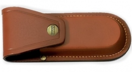 Pocket knife pouch brown Linder 394014