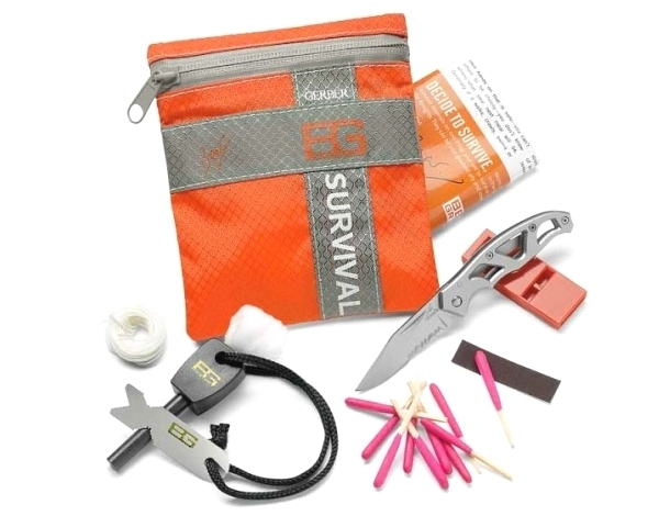 Kit de survie basic Gerber Bear Grylls