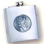Flask with stag Joker