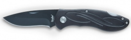 Folding knife Linder Black Swirl