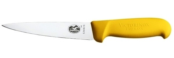 Sticking knive Victorinox 16 cm yellow handle