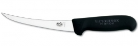 Boning knife curved blade Victorinox 15 cm black handle