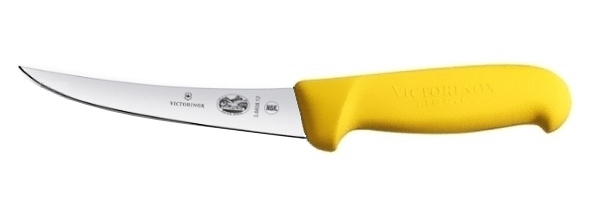 Boning knife curved blade Victorinox 12 cm yellow handle