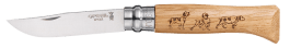 Opinel knive N° 8VRI series animalia 2 decoration Dog
