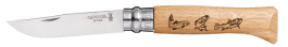 Opinel-Messer Collection Animalia 2 Motiv Forelle