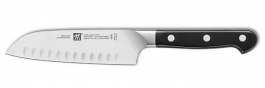 "Santoku knife with hollow edge 7"" Zwilling J.A. Henckels Pro"