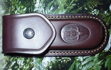 Folding knife leather sheath Muela F10