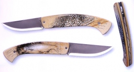 folding knife 1515 thiers fish decoration