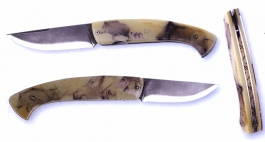 folding knife 1515 thiers wild boar decoration