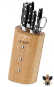 Knife block 3 Claveles Toledo