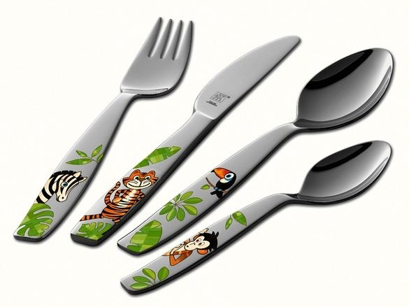 "Flatware Zwilling Henckels 4 pieces ""Jungle"" 07135-210"