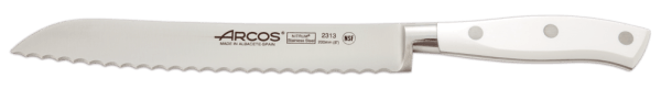 Forged bread knife Arcos Riviera White - 20 cm