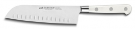 Scalloped Santoku knife Lion Sabatier Ideal Toque Blanche