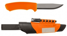 Survival knife Mora Bushcraft Survival orange