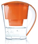 Carafe filtrante Claro Swiss orange