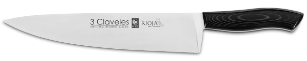 Kitchen knife 25 cm 3 Claveles Rioja
