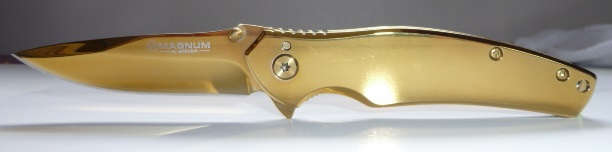 Pocket knife Boker Magnum Gold finger 01LG277